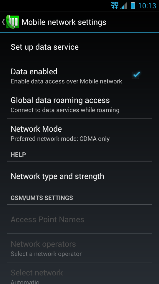Droid Razr Ics Update Removes 3g Only Option Here S How