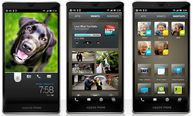 """Sharp's Feel UX Android Skin, This is What They Call """"Simplifying"""