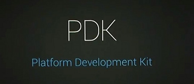 introduction of PDK in GOOGLE IO