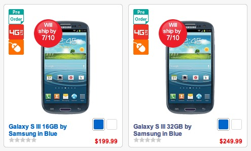 Ship Date for Verizon's Galaxy S3 Changes to July 10 ...