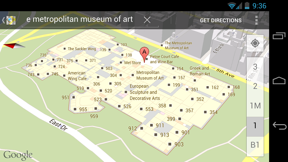 Google Adds 20 Indoor Maps for Museums and the Smithsonian ... on windows interior, columns interior, home interior, google headquarters kitchen, google building interior, bank of england interior, southwest airlines interior, pinterest interior, google deutsch, google office interior,