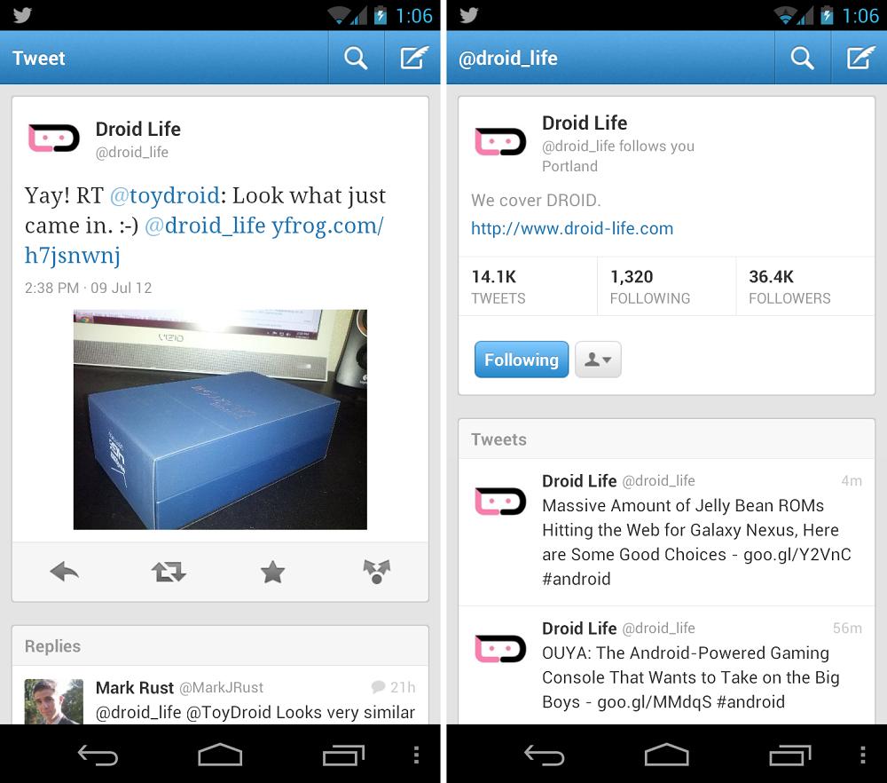 Скачать приложение бесплатно твиттер