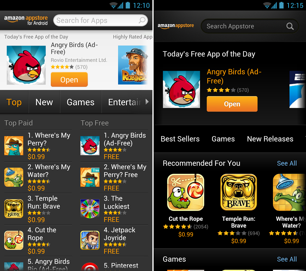 Amazon Appstore Updated International Users Supported