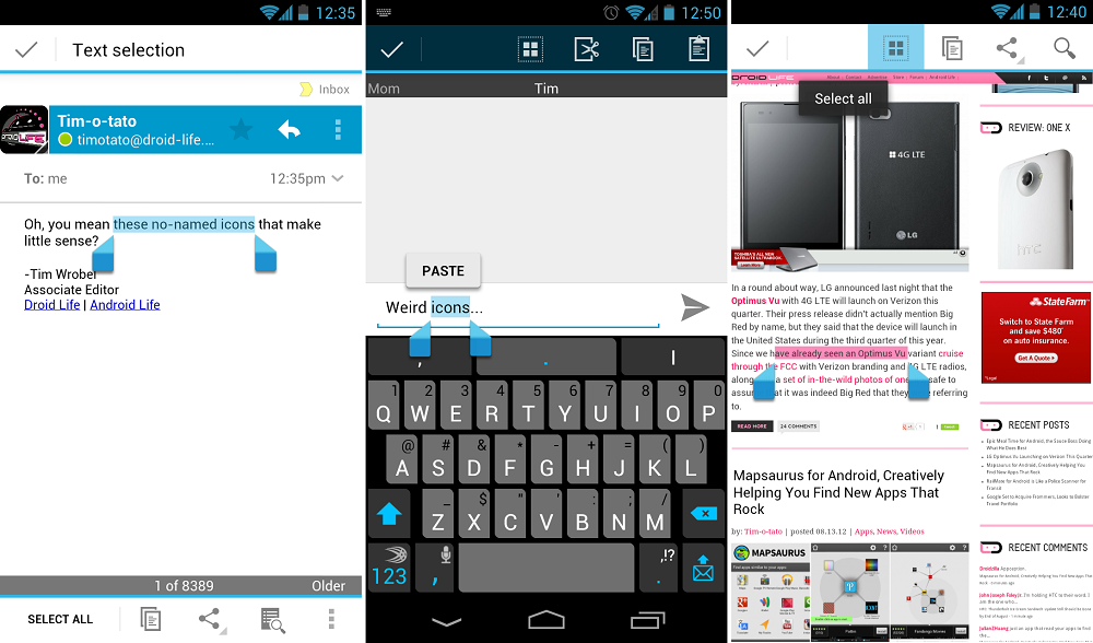 Tip Copy Cut Paste Icons In Jelly Bean And Ice Cream Sandwich