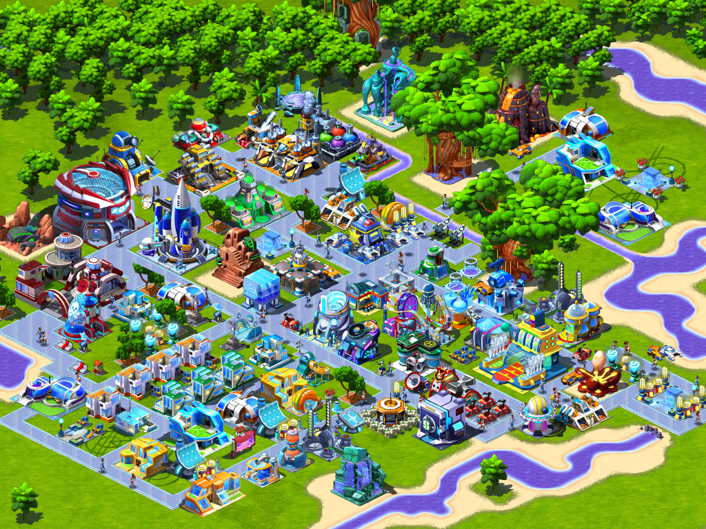 House Builder App Gameloft Releases Cosmic Colony To The Play Store Think