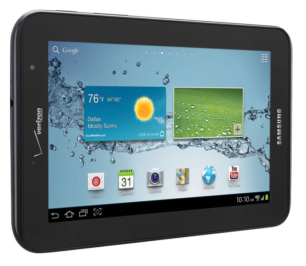 verizon adds samsung galaxy tab 2 7 0 to tablet lineup. Black Bedroom Furniture Sets. Home Design Ideas