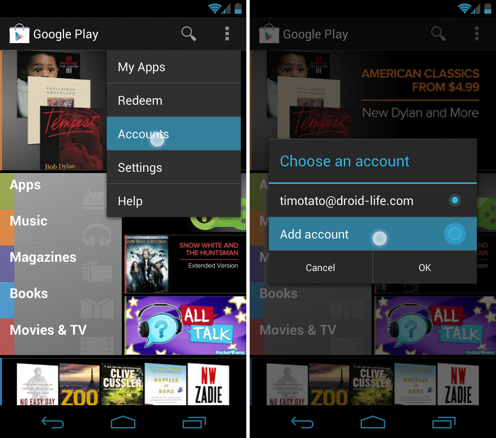 How to: Add Multiple Google Accounts to Your Android ...