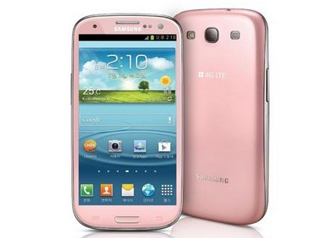 Pink Samsung Galaxy S3 Spotted in Korea, Paris Hilton is First in Line