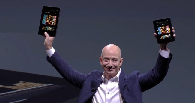 bezos kindle fire hd