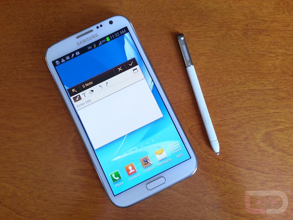 Samsung Galaxy Note 2 Hands