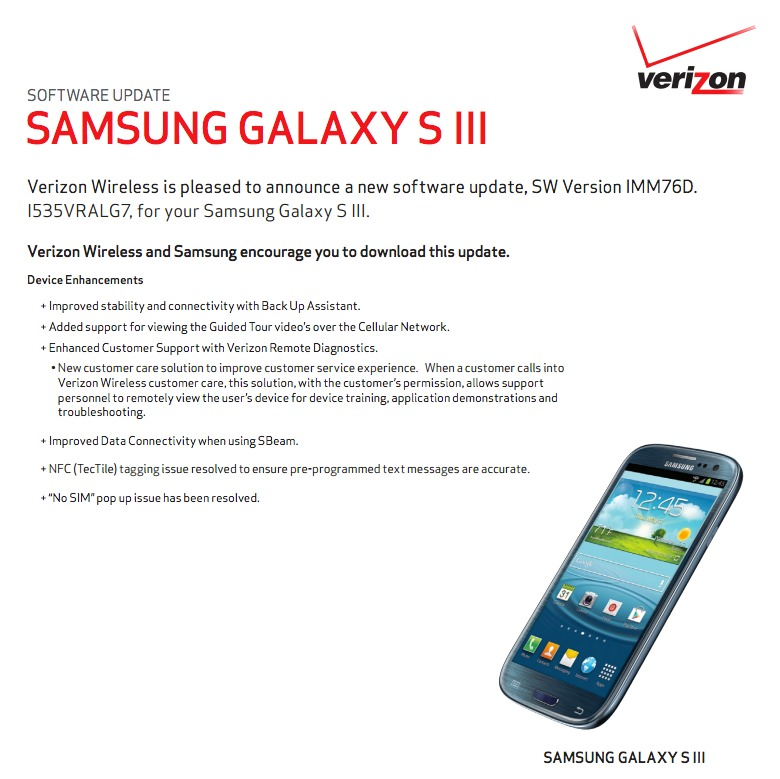 обновление по для samsung galaxy s3:
