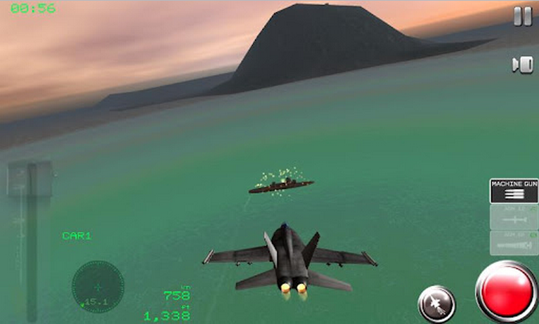 fighter plane games for android