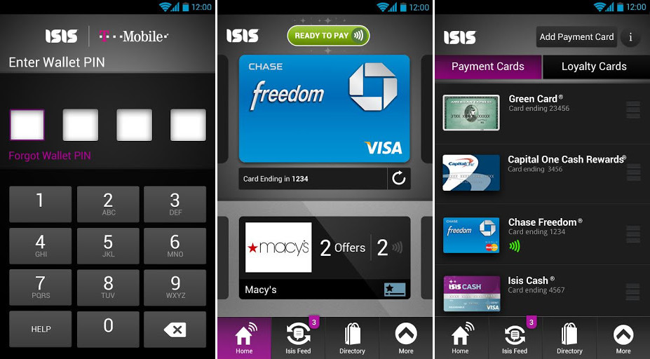 T-Mobile's Isis Mobile Wallet App Appears on Google Play