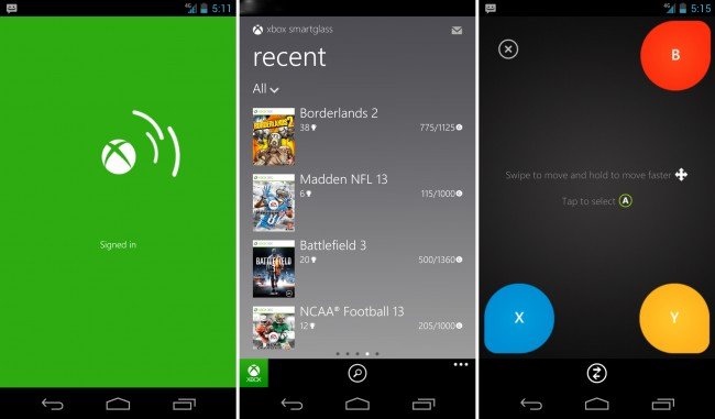 Microsoft Releases Xbox SmartGlass Application For Android Phones, A New Favorite App For Gamers  Droid Life Image