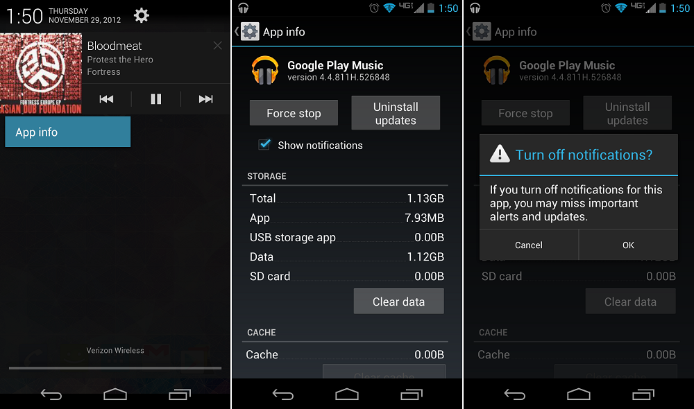 How To: Disable Android Application Notifications