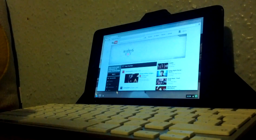 Video: Chromium OS Ported to Nexus 7, Up and Running – Droid Life