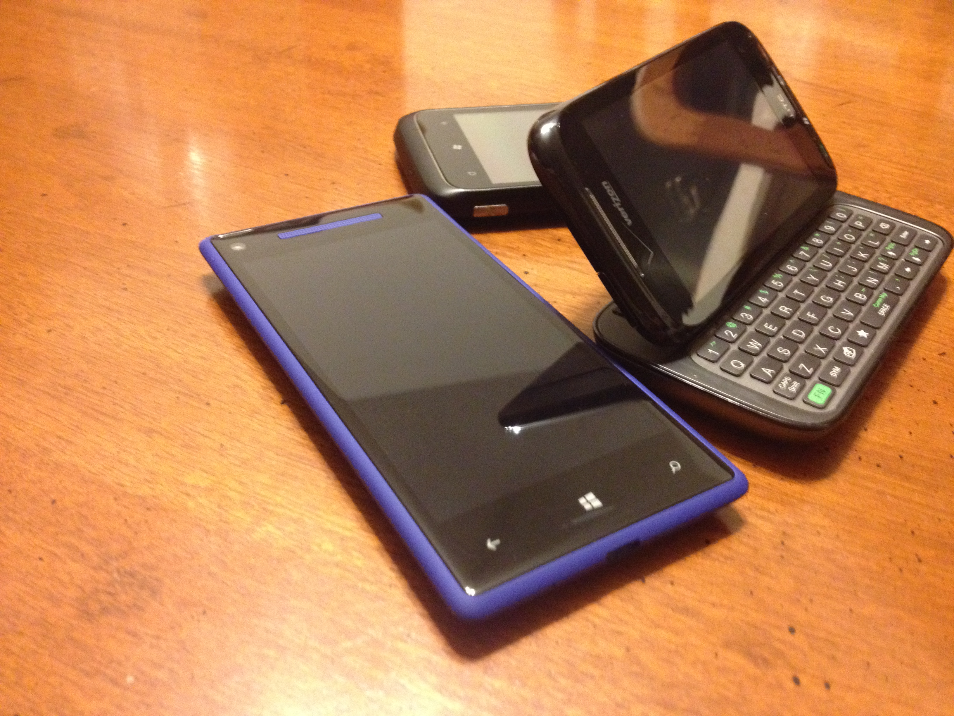 Windows Mobile, Windows Phone 7, Windows Phone 8