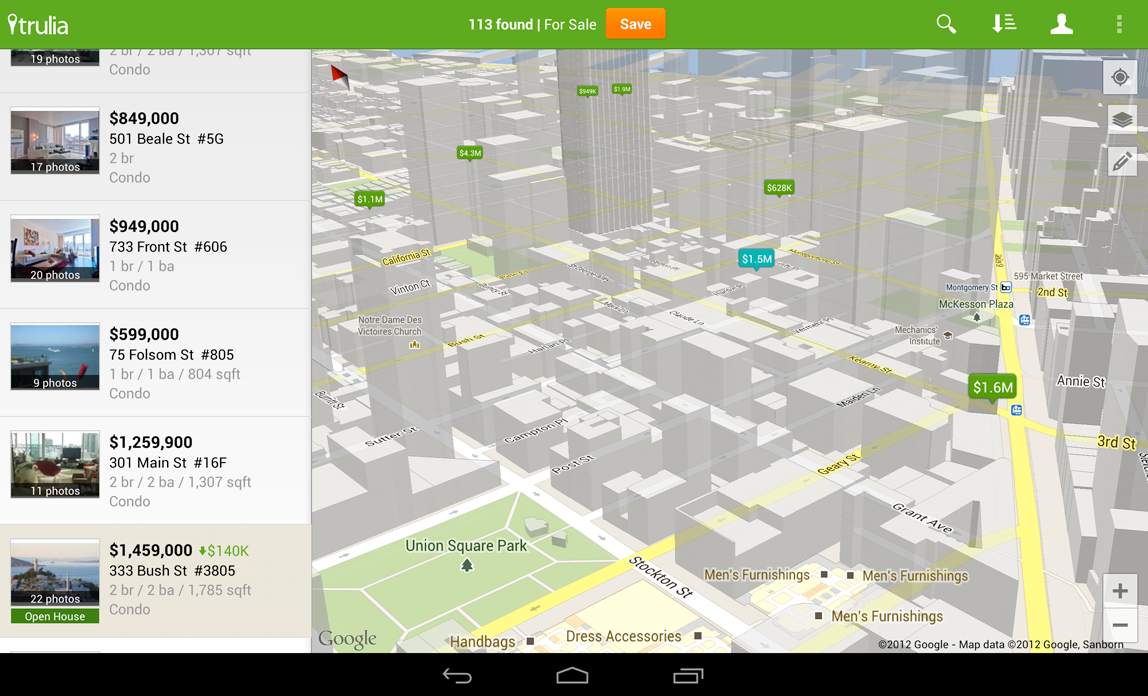 today google released an updated google maps api . google updates maps api allows app developers to completely