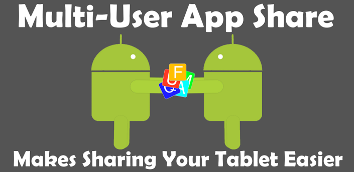 Multi-User App Share Enables Users to Share Apps Through