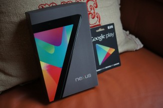 nexus 7 google play gift card
