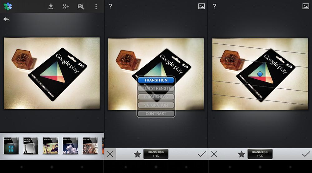 snapspeed app