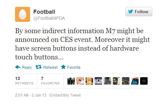 HTC M7 CES