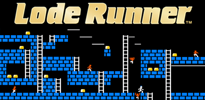 Classic Lode Runner Hits Android, Remains True to Apple II Version