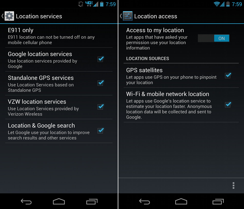 How to enable gps and other location services beginners guide android gps biocorpaavc Images