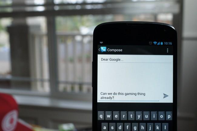 google gaming android