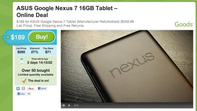 groupon nexus 7