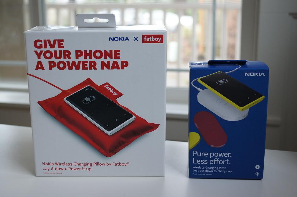 Nokia Wireless Charging Pillow