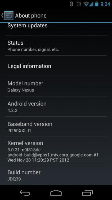 GSM NEXUS 4.2.2