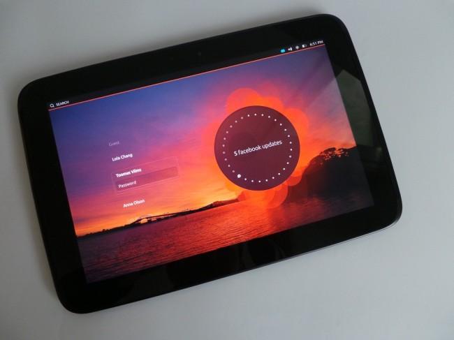 Ubuntu Nexus 10