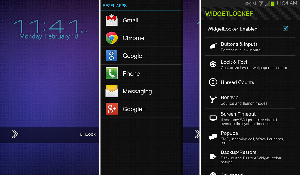 droid 6 how to add widget lockscreen