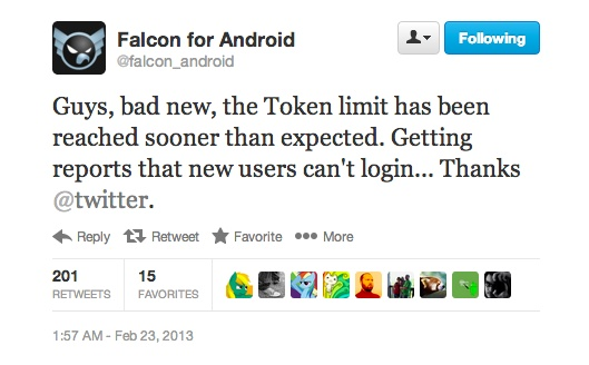 falcon limit