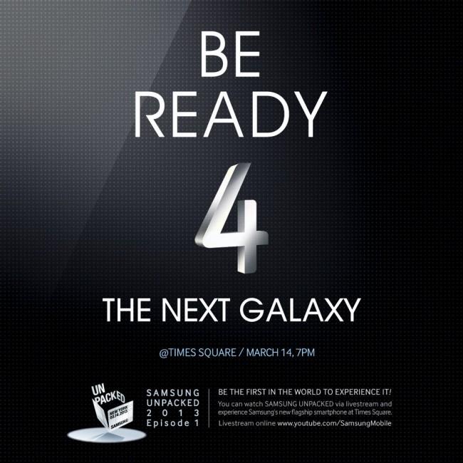galaxy s4 invite