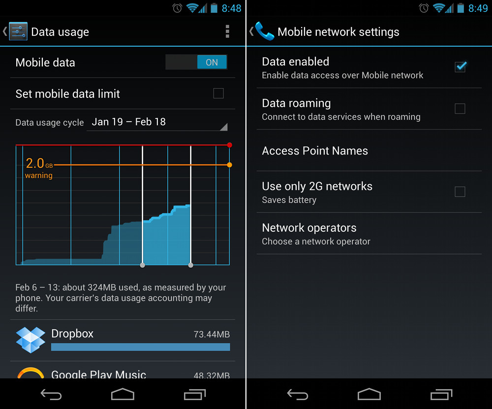 How to: Disable Mobile Data Usage [Beginners' Guide ...