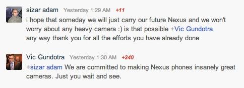 nexus cameras