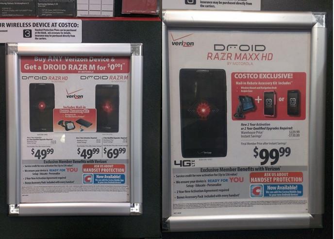 Phone deals at costco