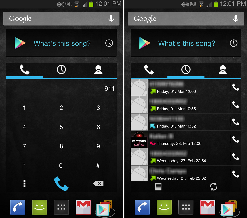 Simple Dialer Widget Brings A Right To Your