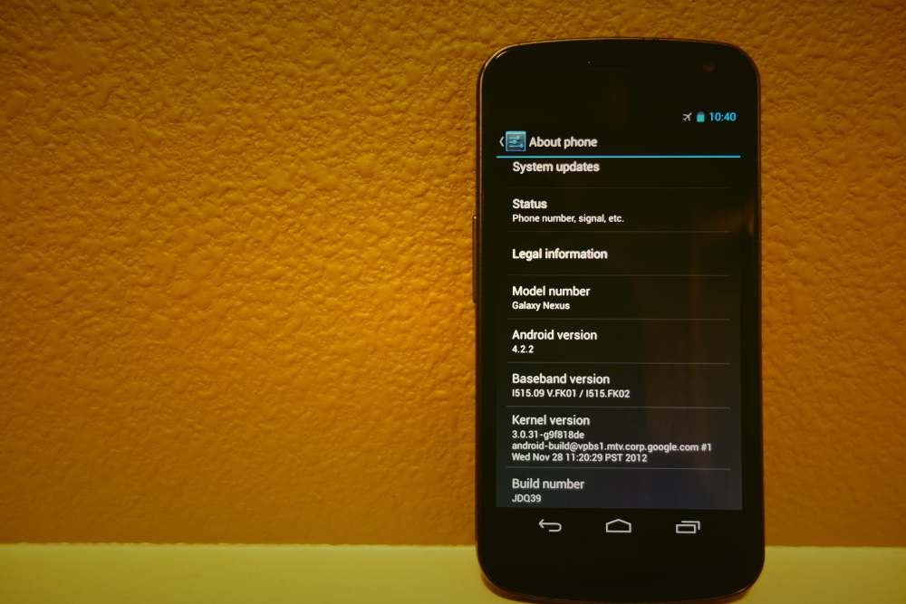 Download: New Radios From Galaxy Nexus LTE 4 2 2 Update