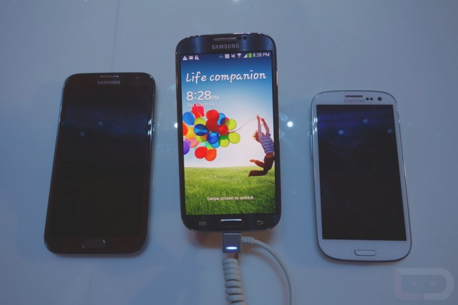 Comparison Galaxy s3 And s4 Galaxy s4 Galaxy s3