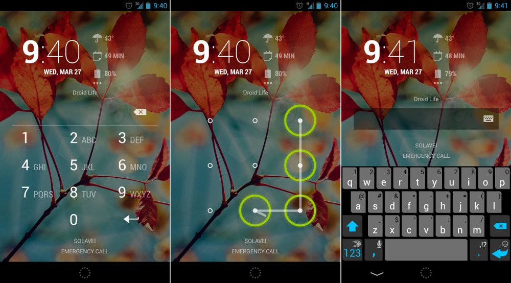An Overview Of Android Lock Screen Security Options [Beginners Simple Most Common Pattern Locks