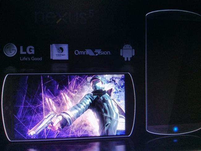 nexus 5 prototype