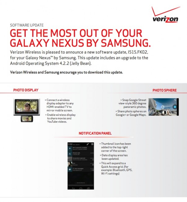 verizon galaxy nexus1