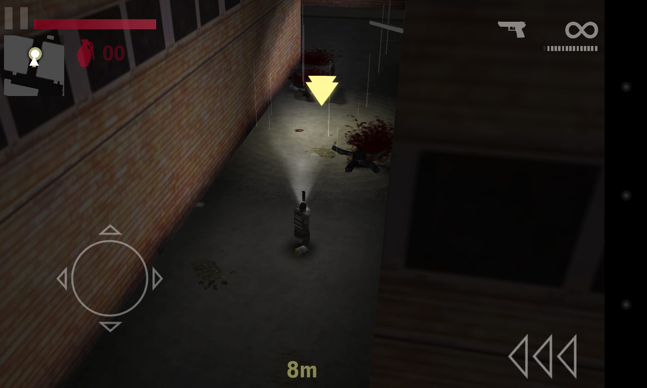 Aftermath XHD for Android, a 3rd Person Zombie Kill 'em All