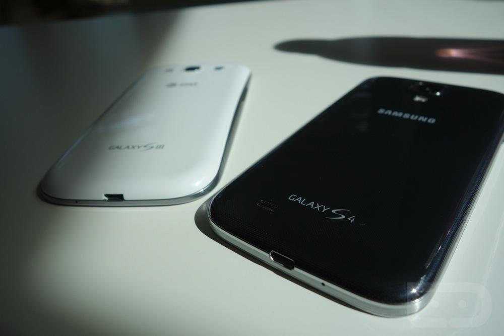 Samsung Galaxy S3 vs S4