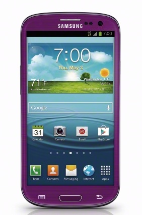 Galaxy S3 Purple