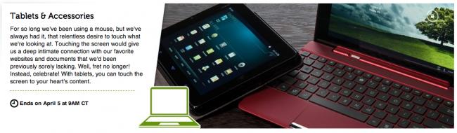 woot tablet sale