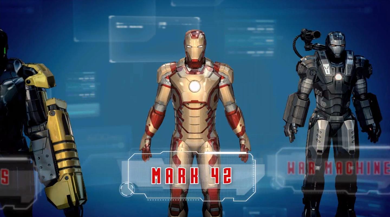 Iron Man 3 Mark 42